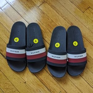 Tommy Hilfiger Slippers  Size 9 ( Two Available)